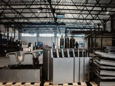 Гибка металла на заводе МЕТАВР