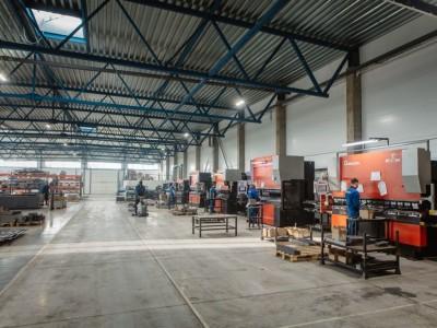 Гибочный сектор завода МЕТАВР