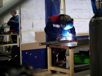 Сварочный сектор на заводе
