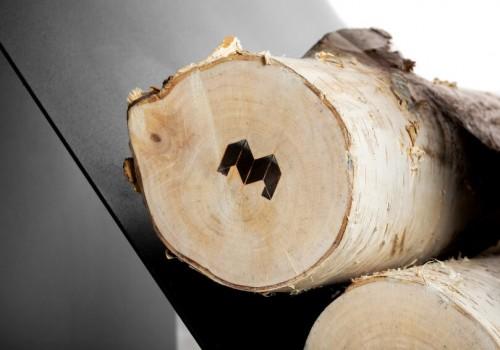 Применение дров для островных каминов
